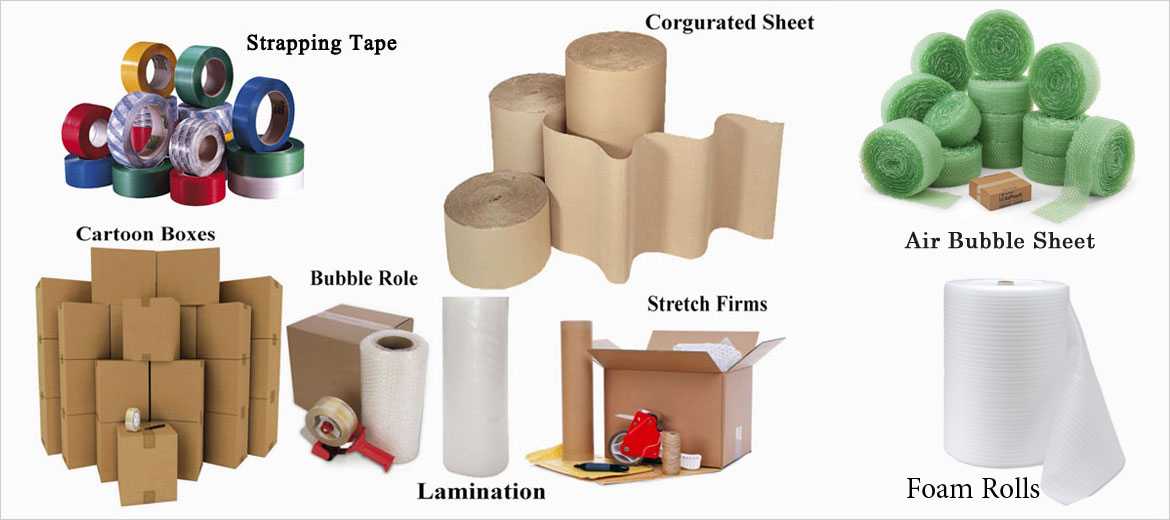 Packaging material suppliers, Packing Material